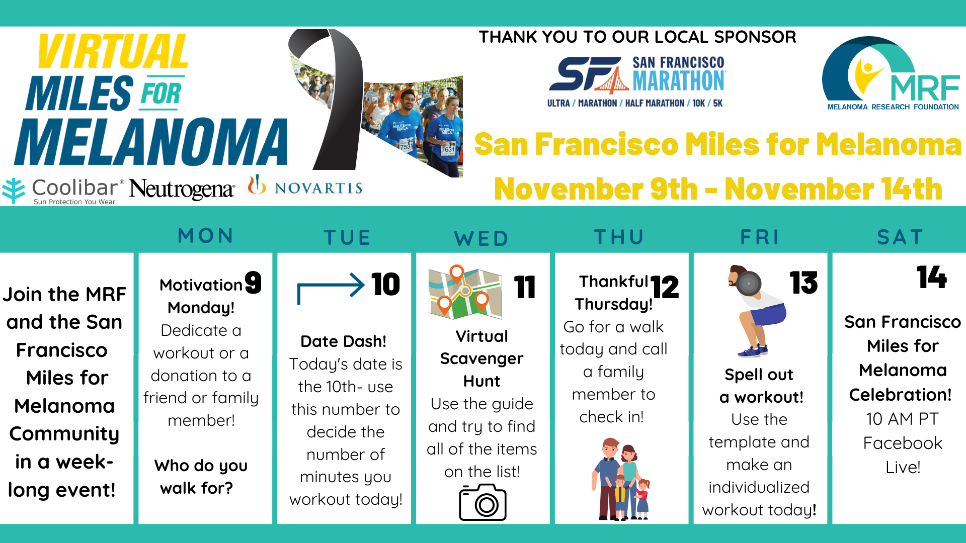 SF Miles for Melanoma Weekly Sched.png